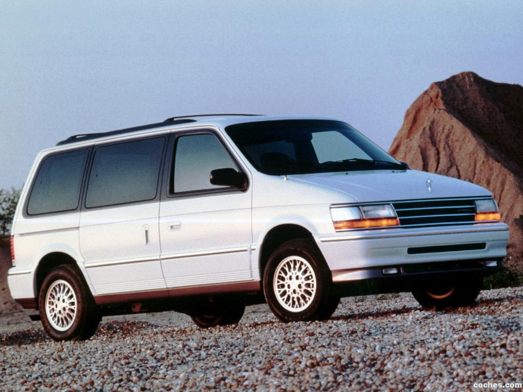 Foto 0 de Plymouth Voyager 1991