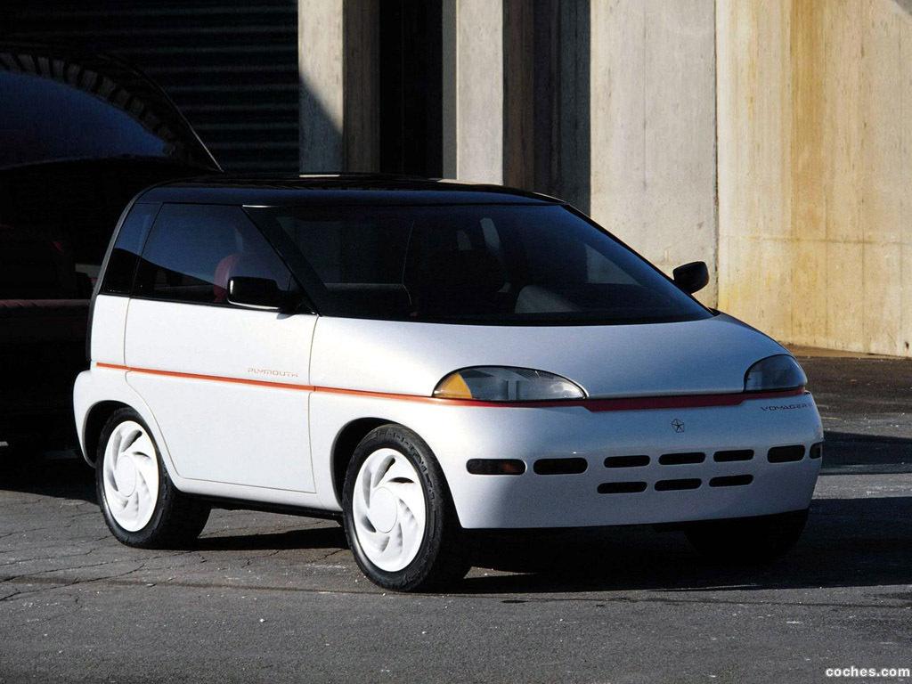 Foto 0 de Plymouth Voyager III Concept 1989
