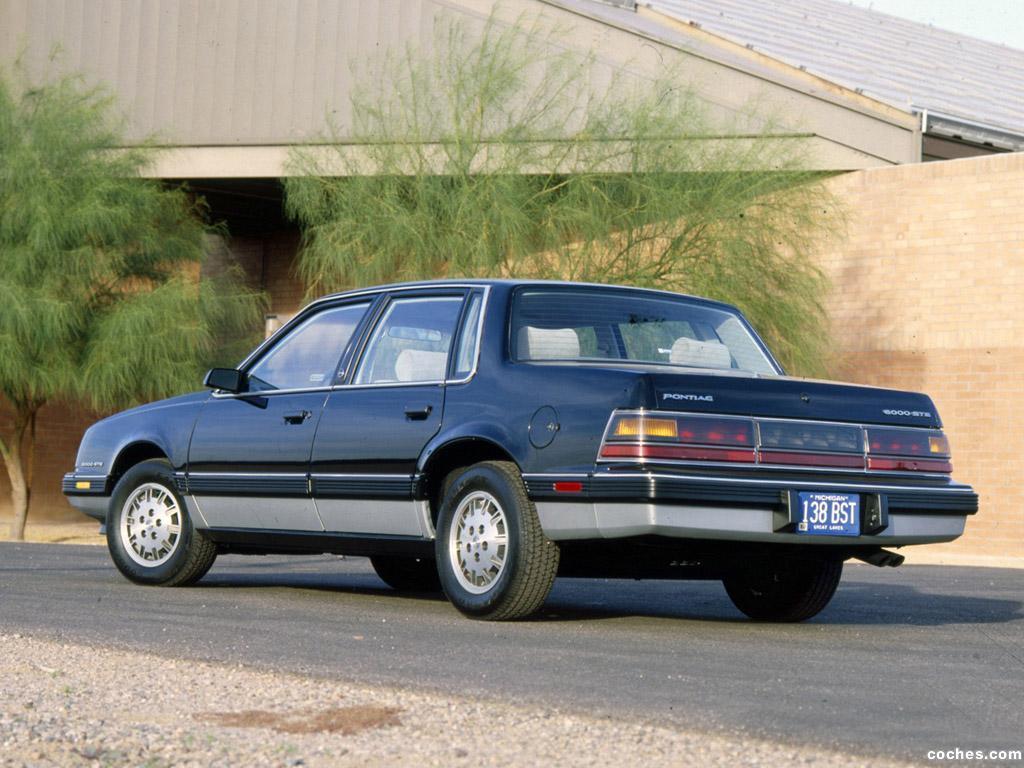 Foto 6 de Pontiac 6000 STE 1983