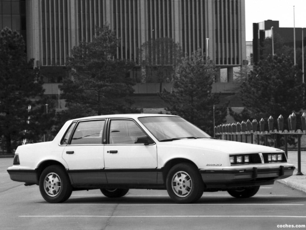 Foto 2 de Pontiac 6000 STE 1983