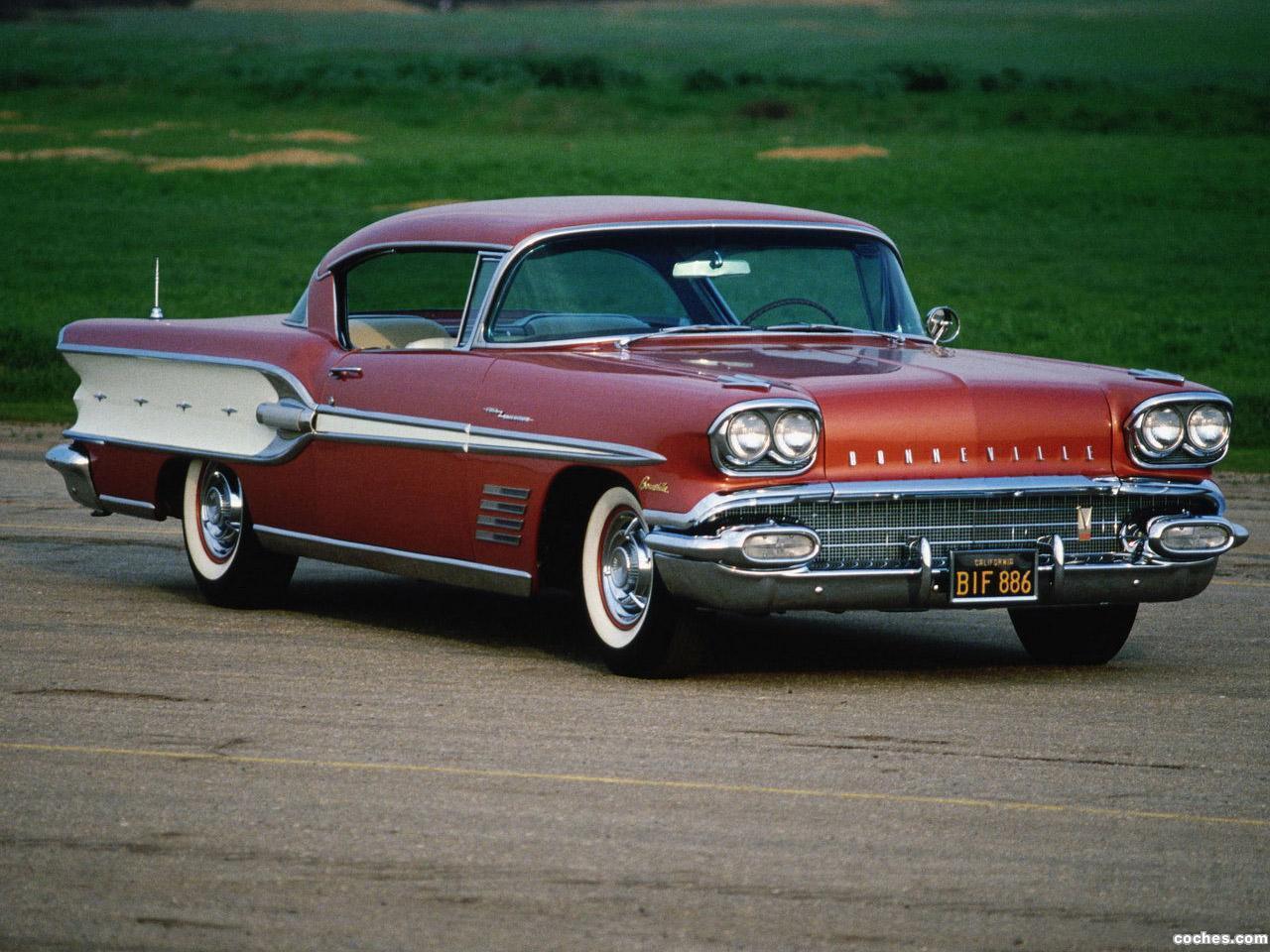 de Pontiac bonneville 1958
