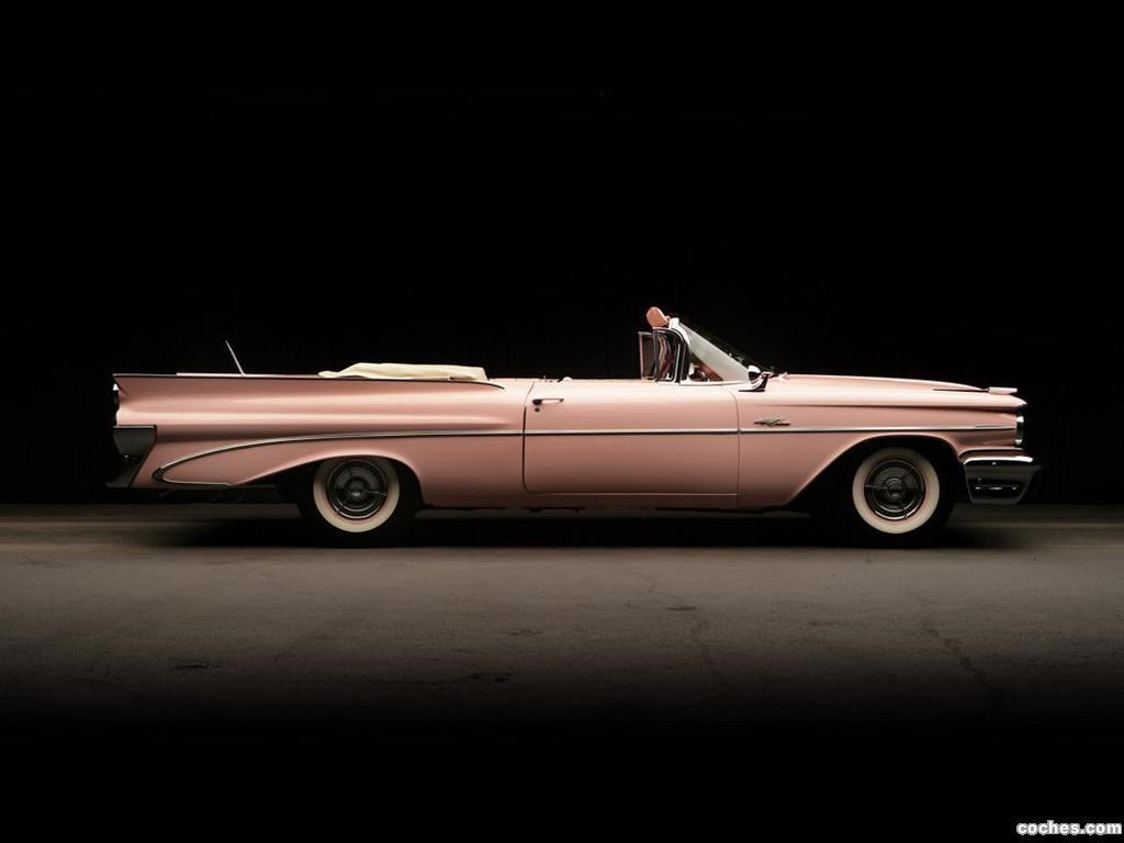 Foto 2 de Pontiac Catalina Convertible Pink Lady by Harly Earl 1959