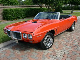 Fotos de Pontiac Firebird 400 Convertible 1969