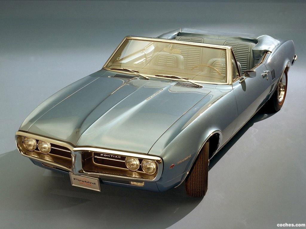 Foto 0 de Pontiac Firebird Convertible 1967