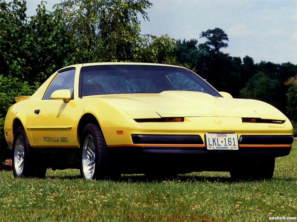 Foto 0 de Pontiac Firebird Formula 350 1987
