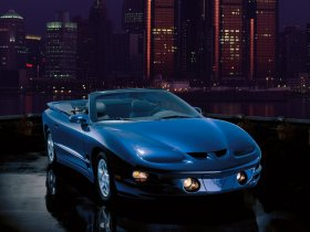 Fotos de Pontiac Firebird Trans Am Convertible 1989