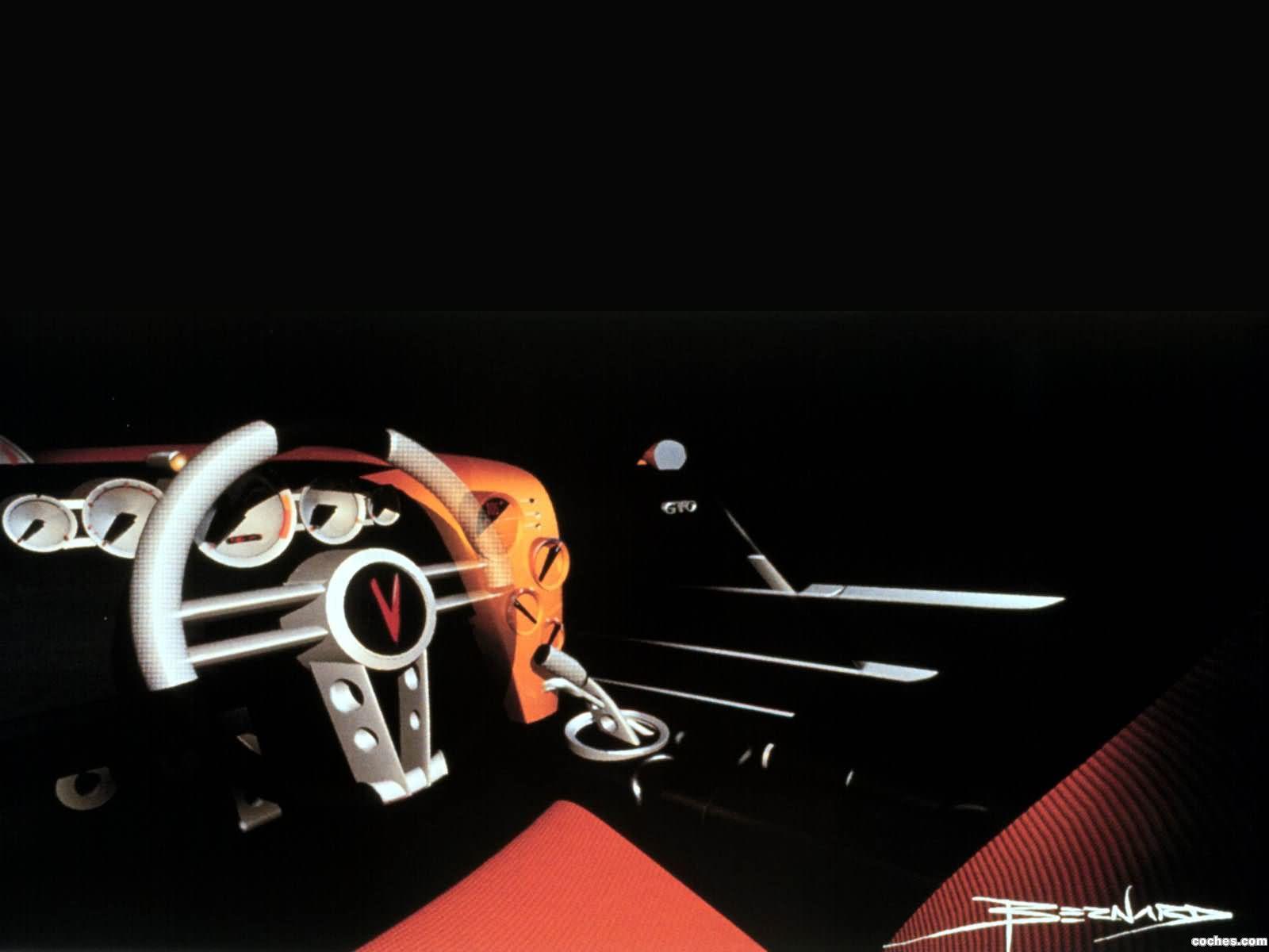 Foto 5 de Pontiac GTO Concept 1999
