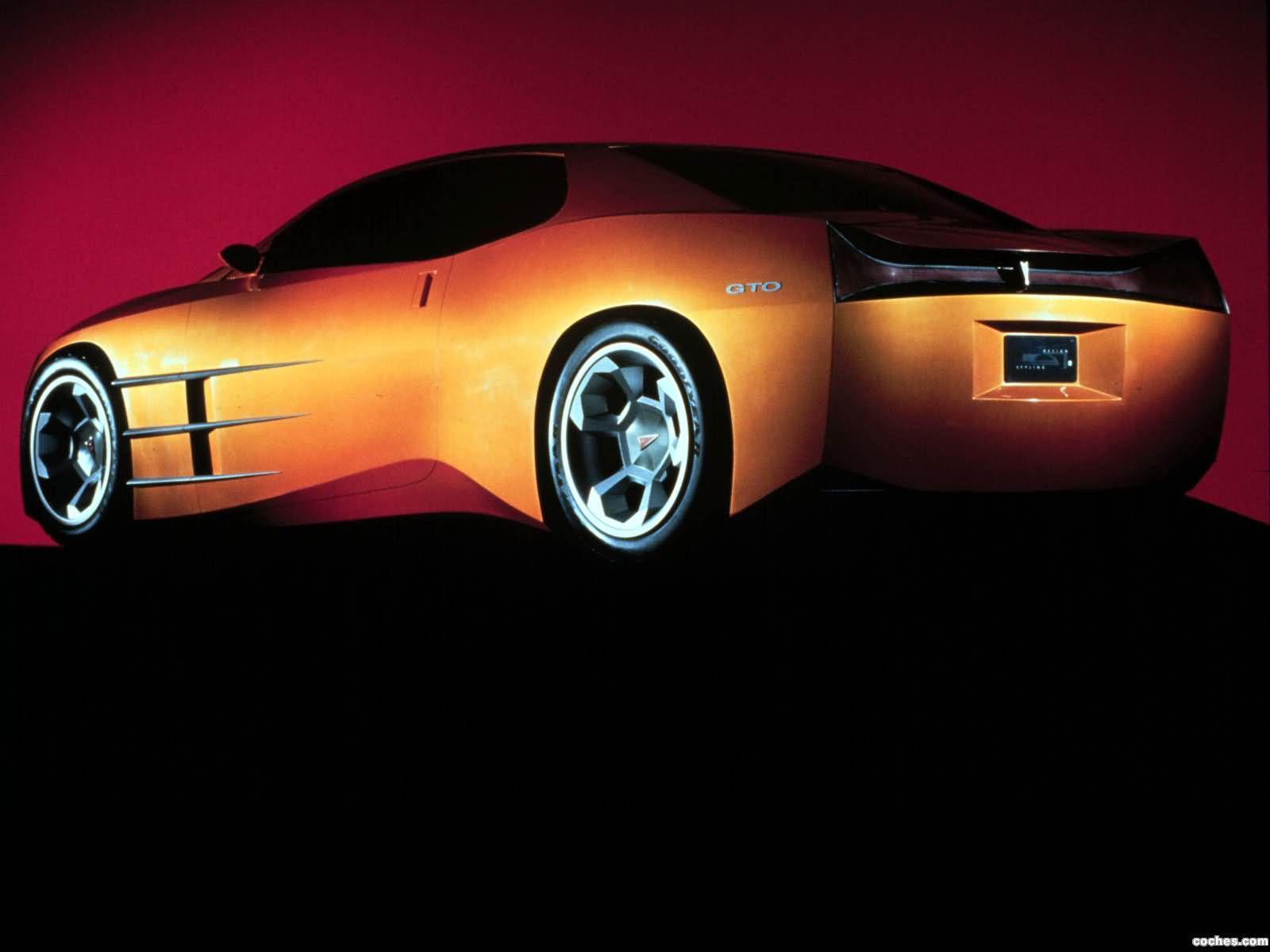 Foto 2 de Pontiac GTO Concept 1999