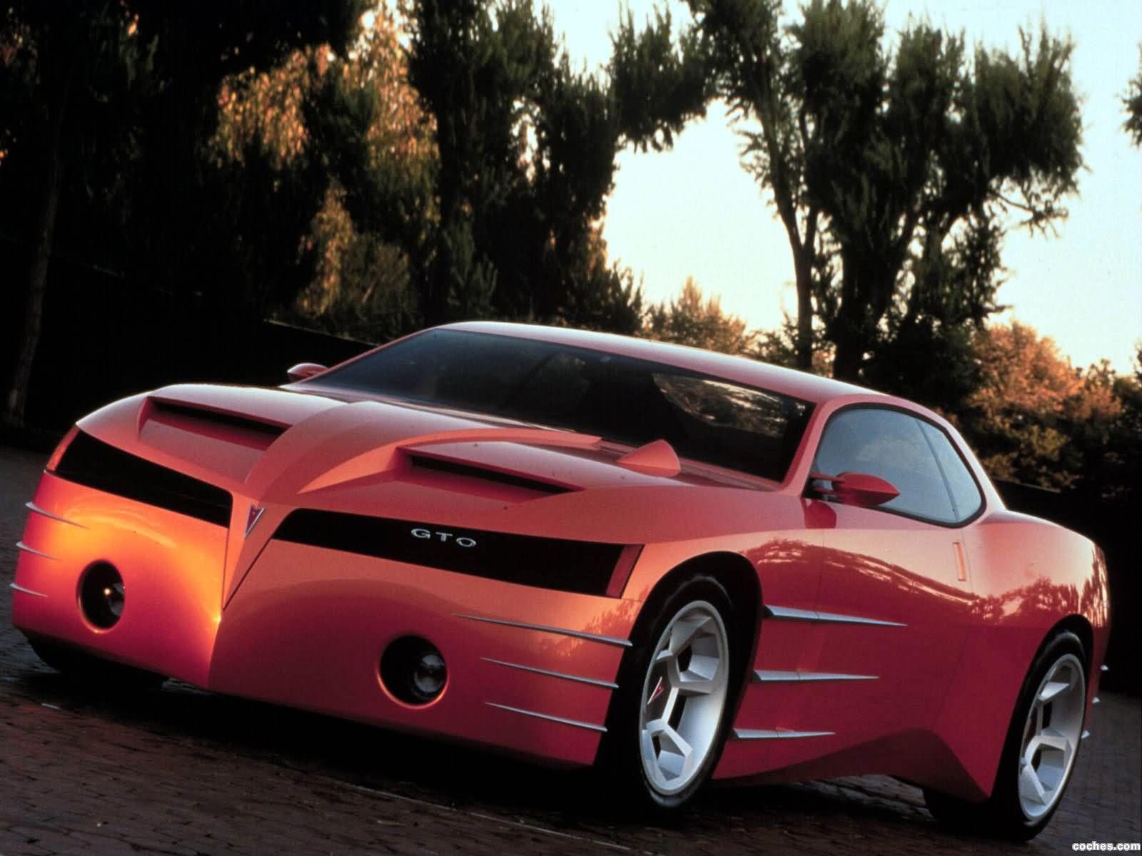 Foto 0 de Pontiac GTO Concept 1999
