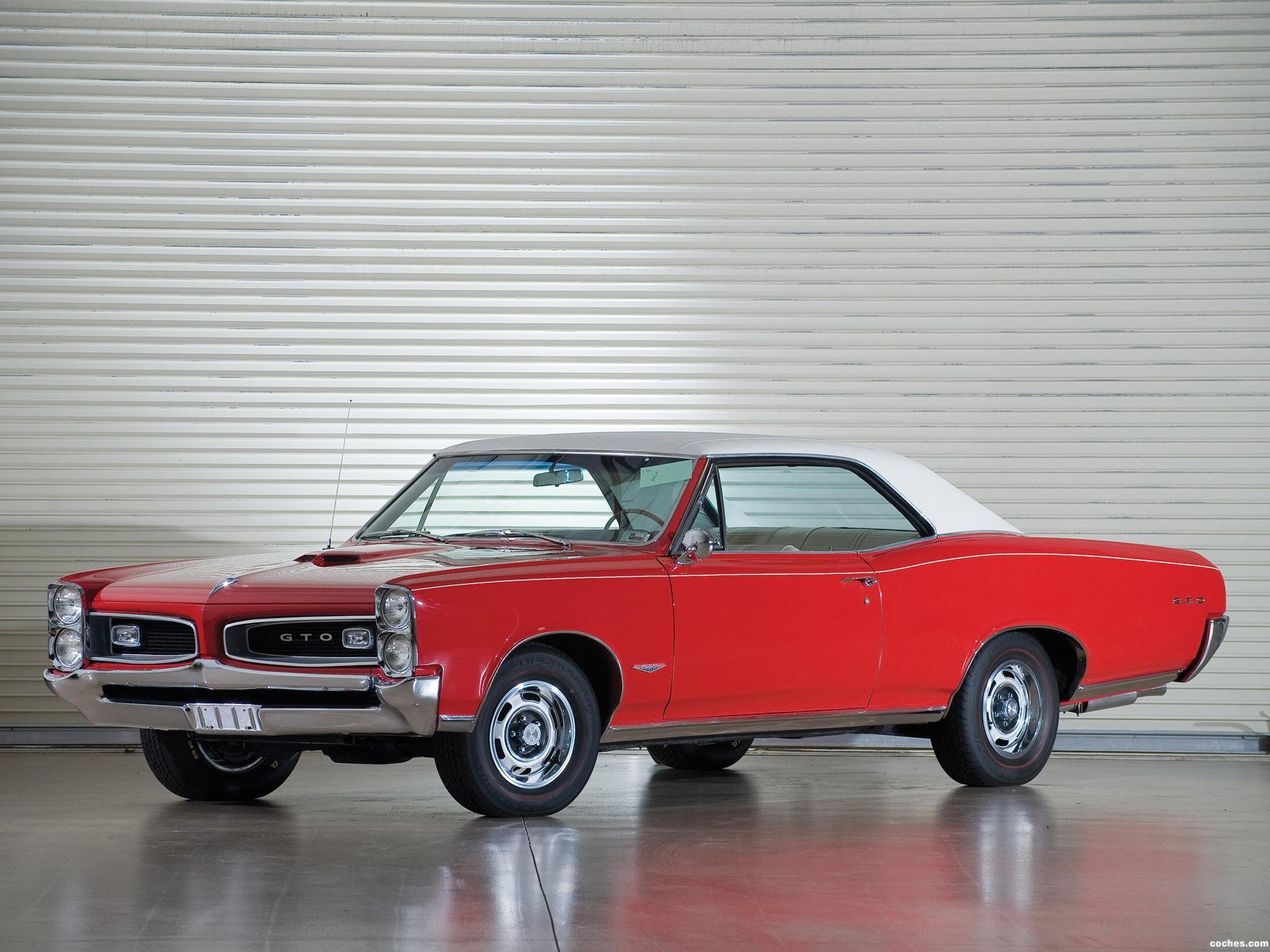 Foto 0 de Pontiac GTO Coupe Hardtop 1966
