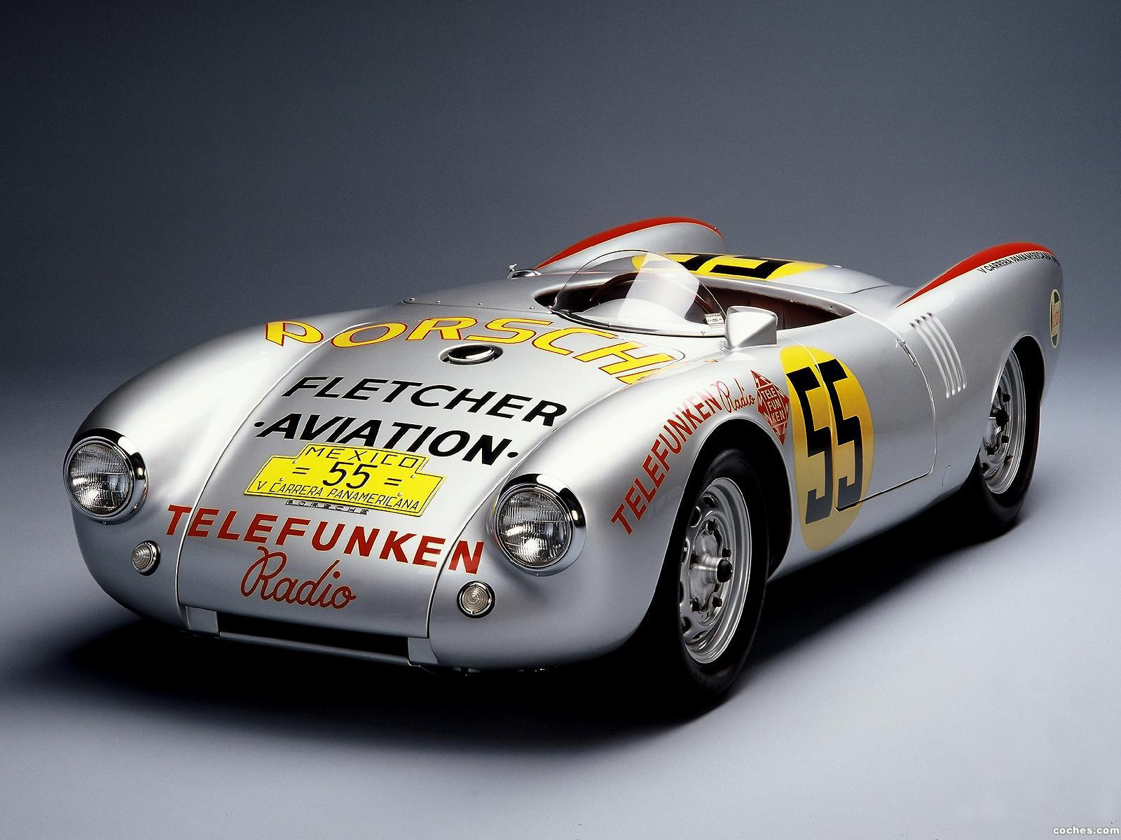 Foto 0 de Porsche 550 Spyder Carrera Panamerican 1954