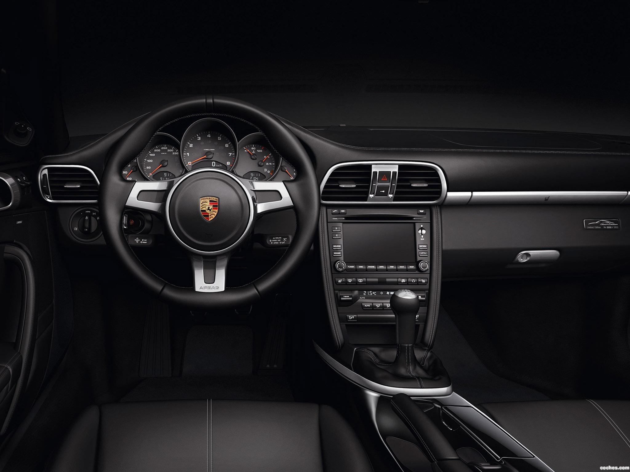 Foto 3 de Porsche 911 Cabriolet Black Edition 997 2011