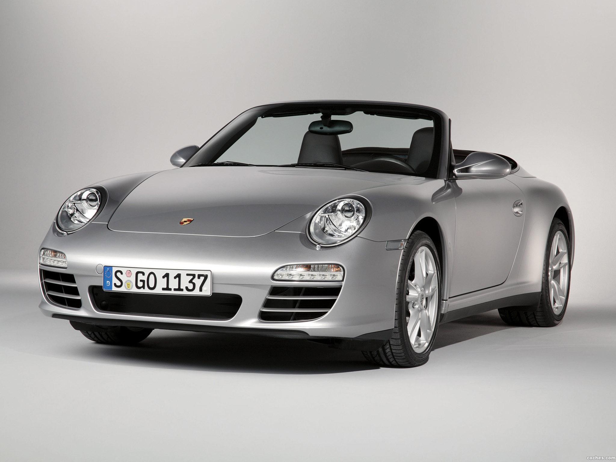 Foto 0 de Porsche 911 Carrera 4 Cabriolet 997 2008