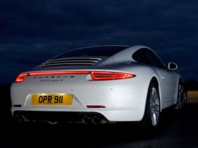 Ver foto 10 de Porsche 911 Carrera 4 Coupe UK 2012
