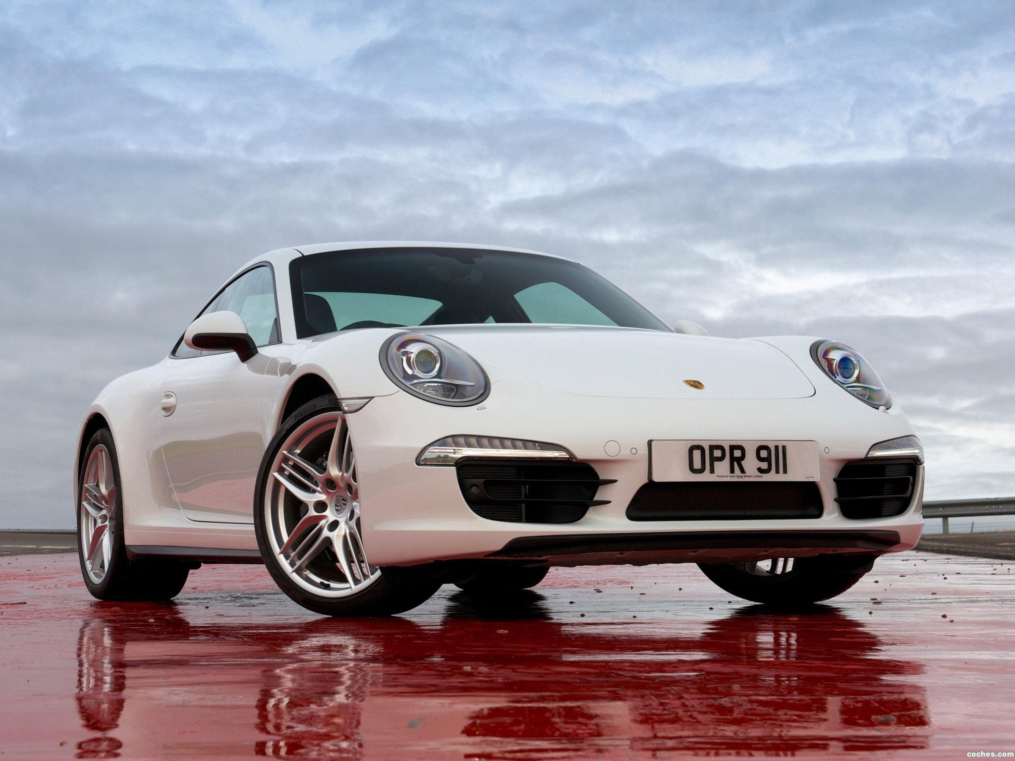 Foto 0 de Porsche 911 Carrera 4 Coupe UK 2012