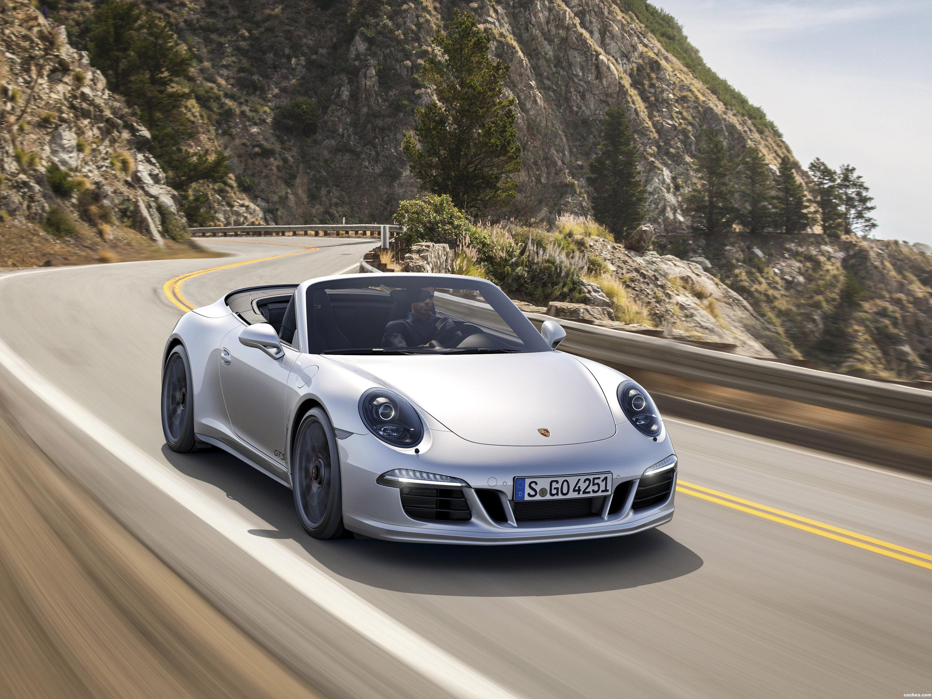 Foto 0 de Porsche 911 Carrera 4 GTS Cabriolet 991 2015