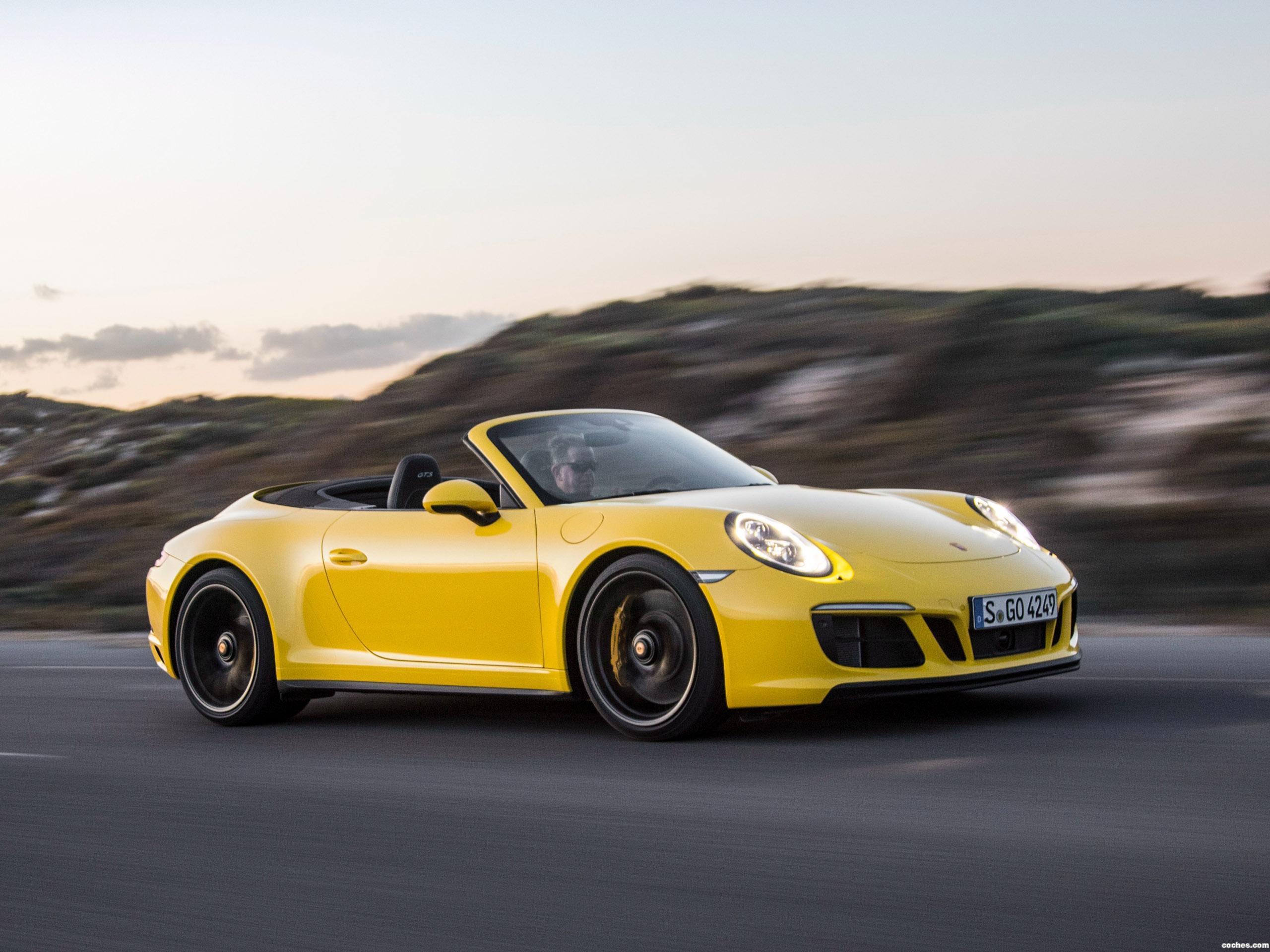 Foto 12 de Porsche 911 Carrera 4 GTS Cabriolet 991 2017