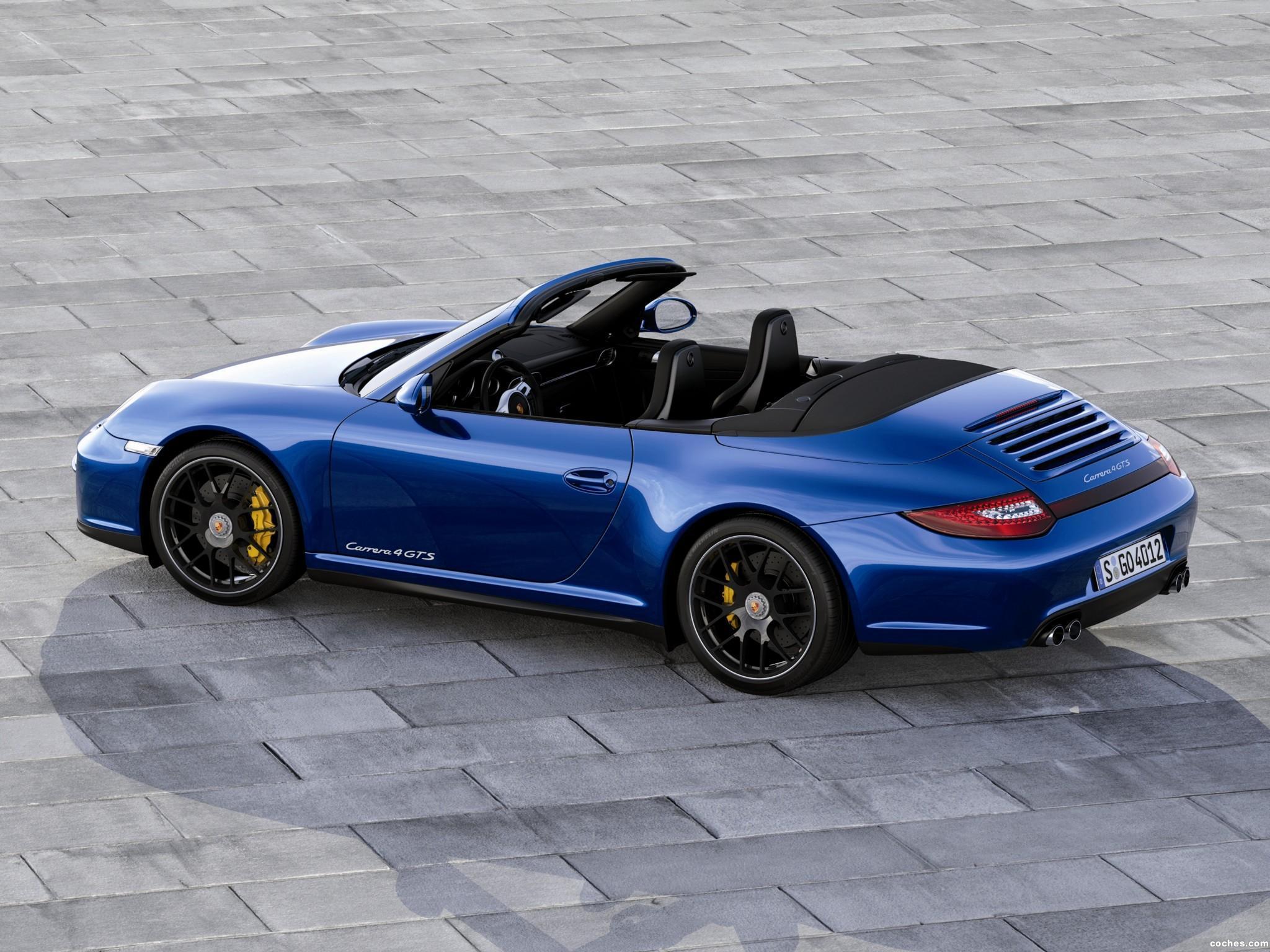 Foto 4 de Porsche 911 Carrera 4 GTS Cabriolet 997 2011