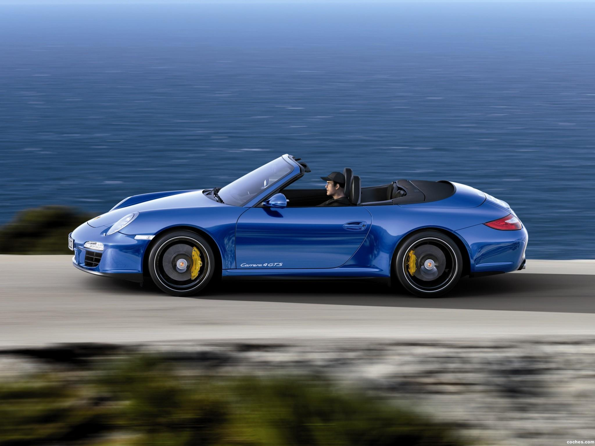 Foto 2 de Porsche 911 Carrera 4 GTS Cabriolet 997 2011