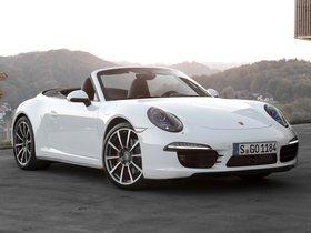 Fotos de Porsche 911 Carrera 4S Cabriolet 991 2011
