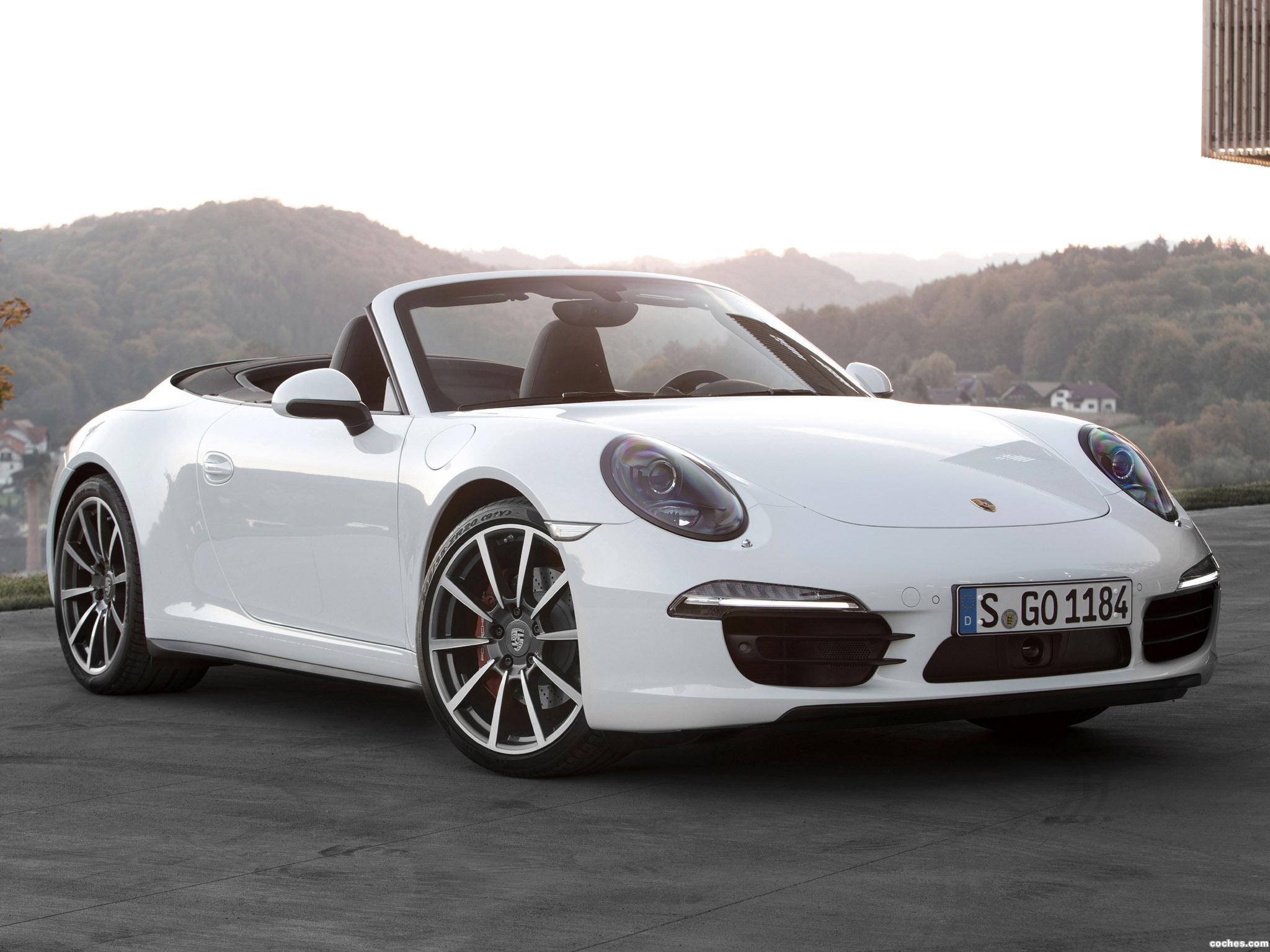 Foto 0 de Porsche 911 Carrera 4S Cabriolet 991 2011