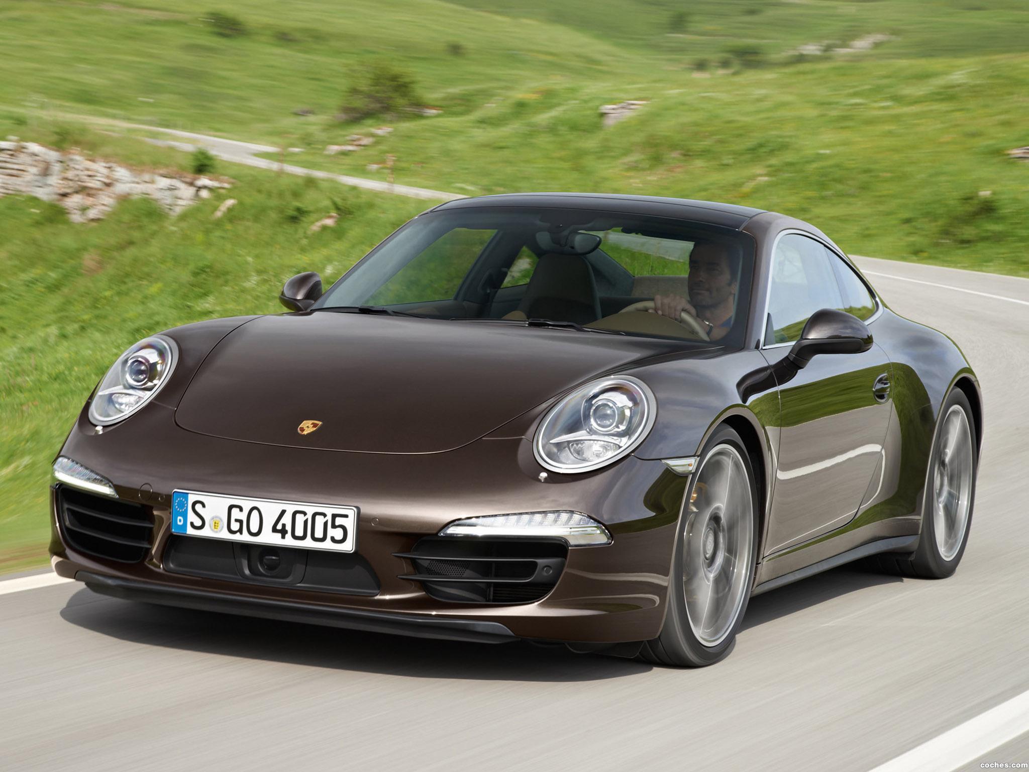 Foto 0 de Porsche 911 Carrera 4S Coupe 991 2012