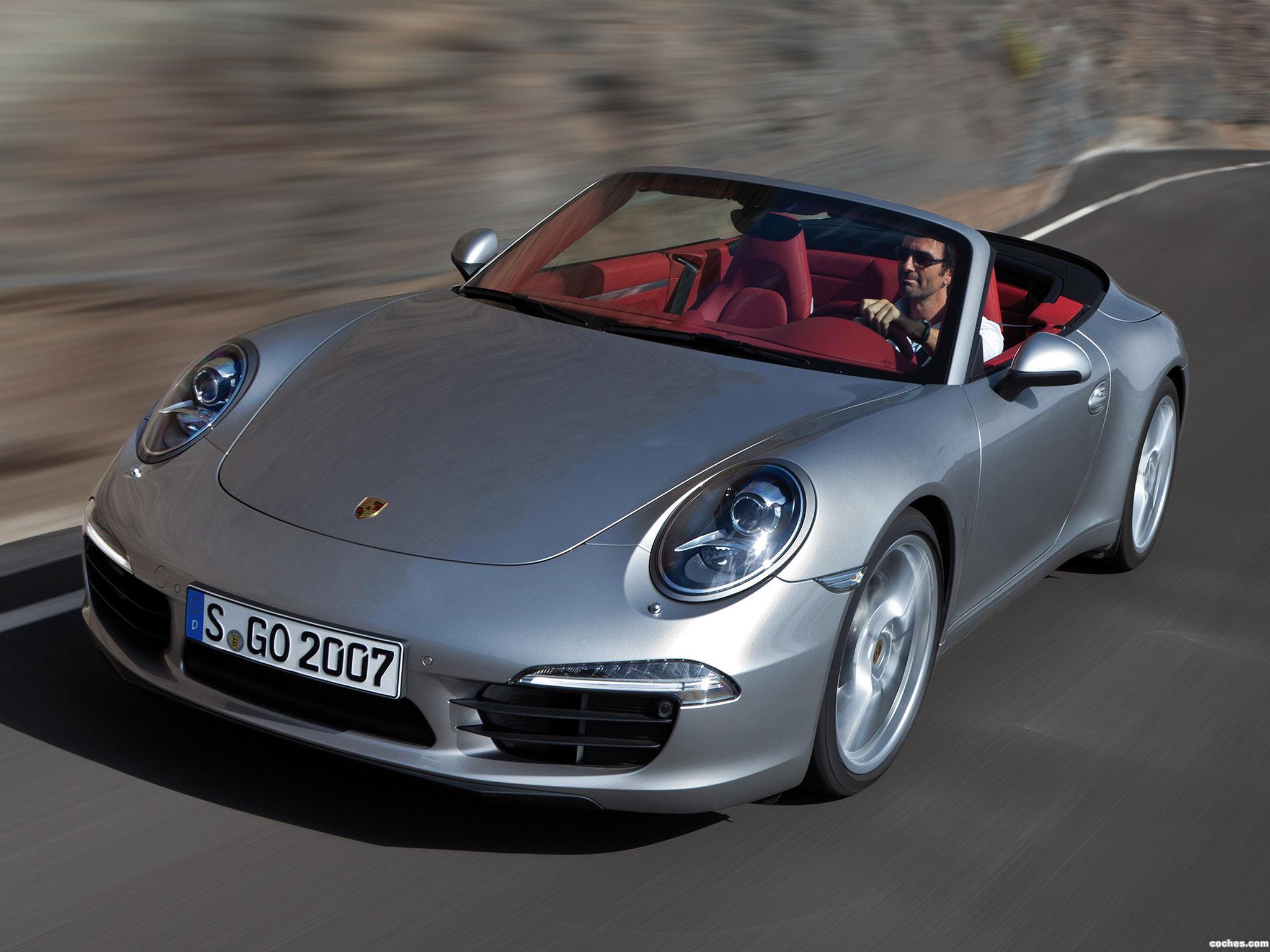 Foto 0 de Porsche 911 Carrera Cabriolet  2012