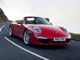 Fotos de Porsche 911 Carrera Cabriolet 991 UK 2011