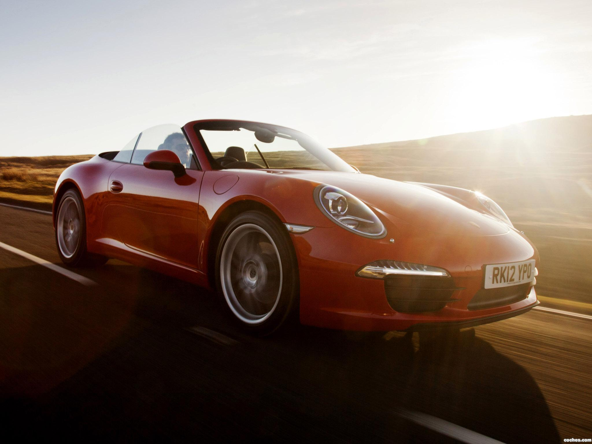 Foto 5 de Porsche 911 Carrera Cabriolet 991 UK 2011