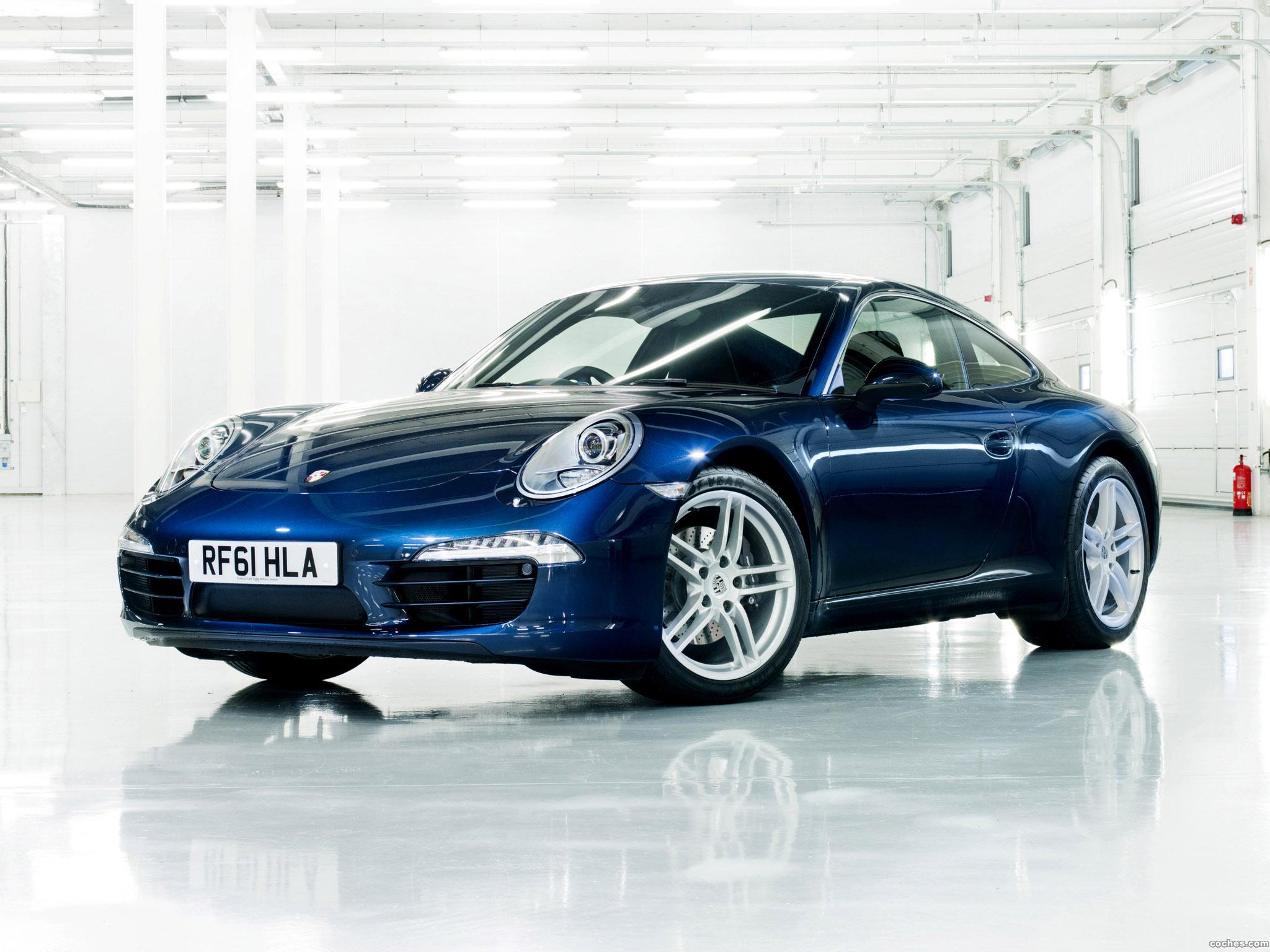 Foto 0 de Porsche 911 Carrera Coupe 991 UK 2011