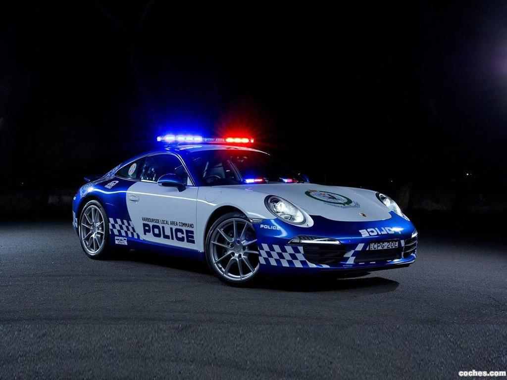 Foto 0 de Porsche 911 Carrera Police Australia 2014