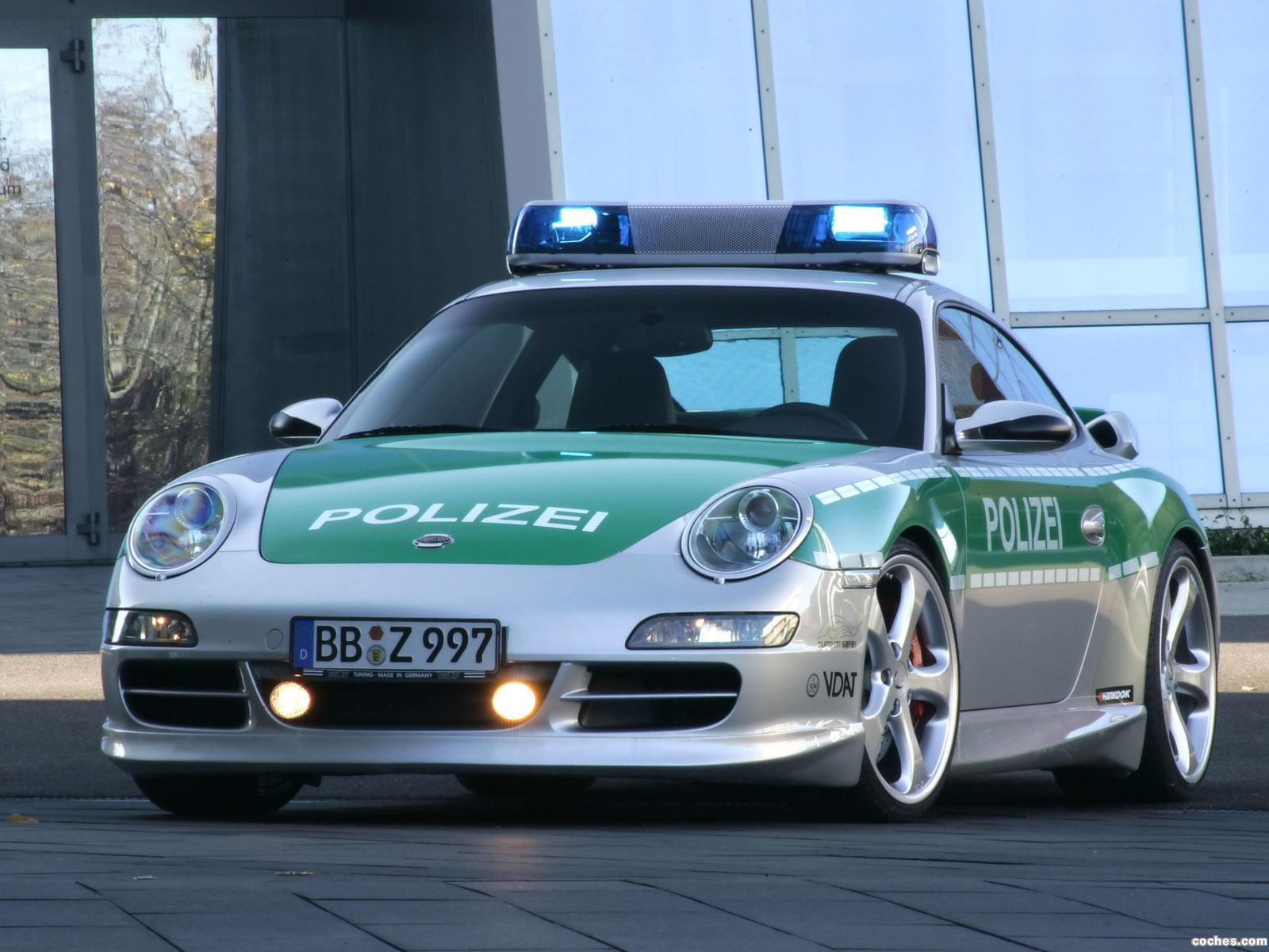 Foto 0 de TechArt Porsche 911 Carrera S Police Car 2006