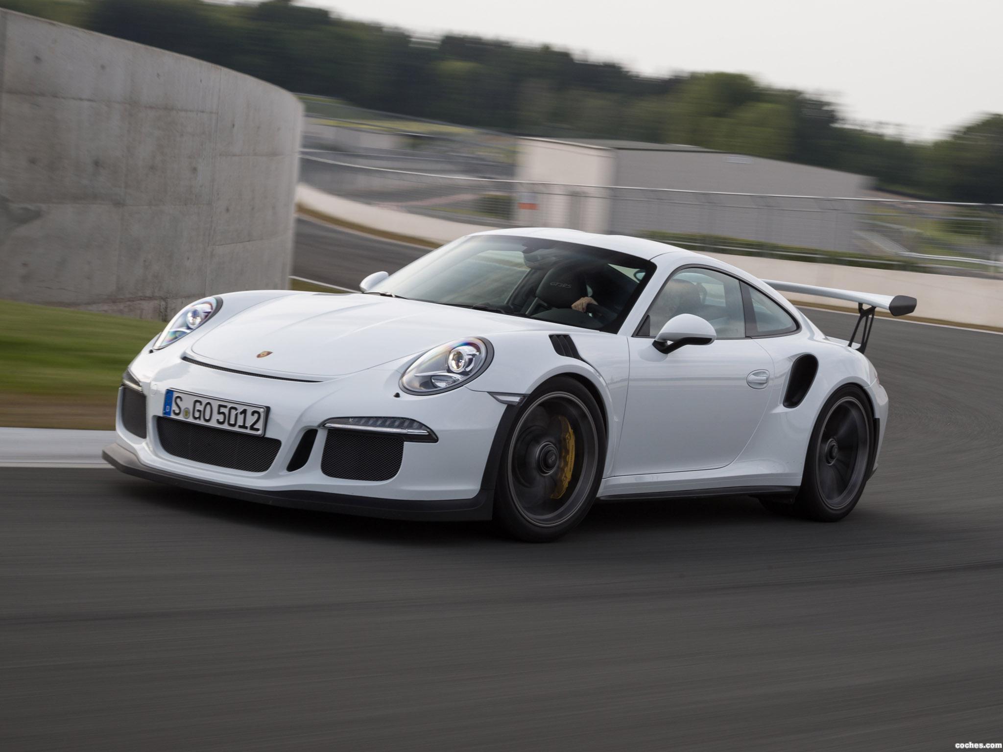 Foto 20 de Porsche 911 GT3 RS 991 2015