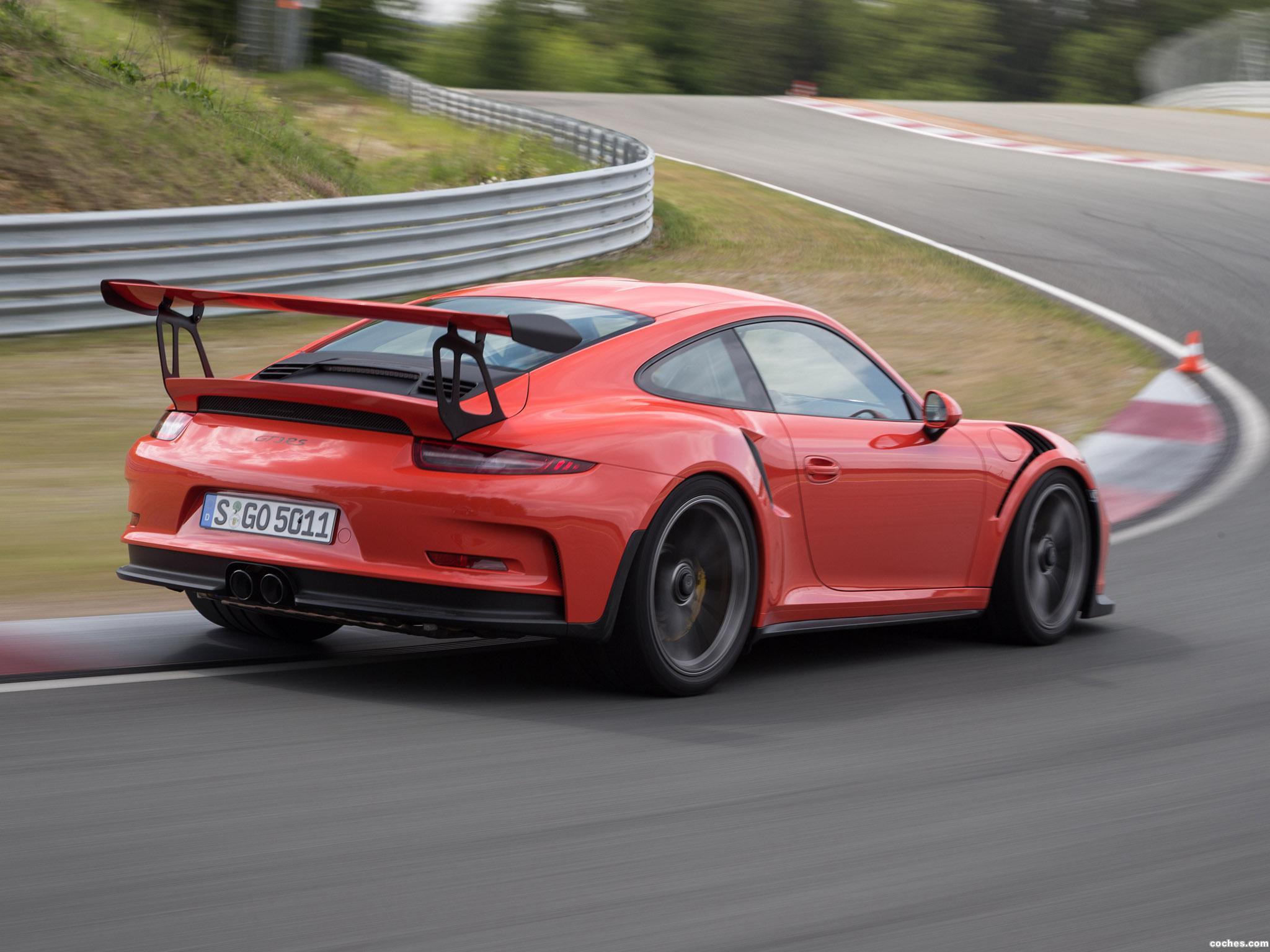Foto 18 de Porsche 911 GT3 RS 991 2015