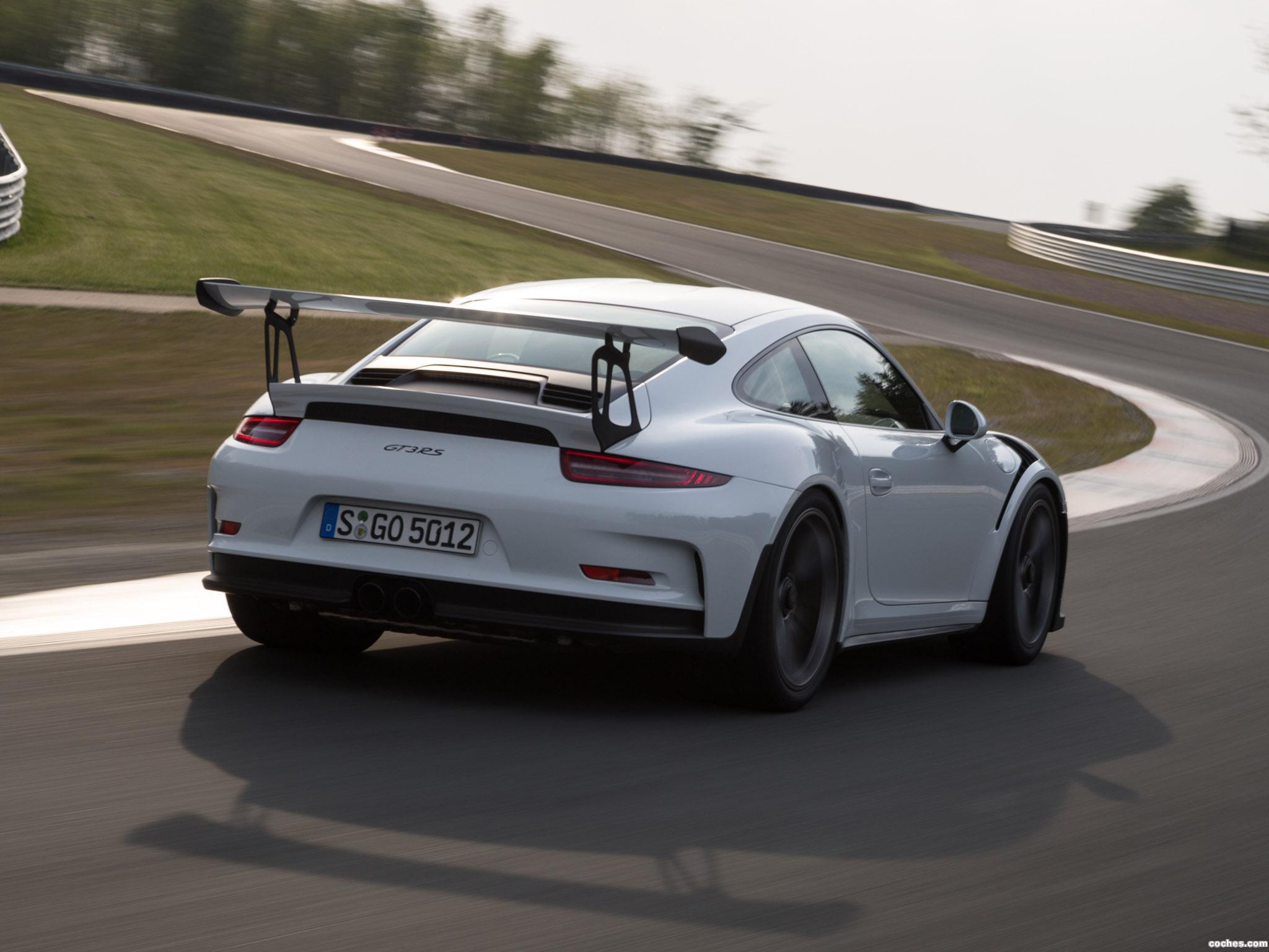 Foto 16 de Porsche 911 GT3 RS 991 2015