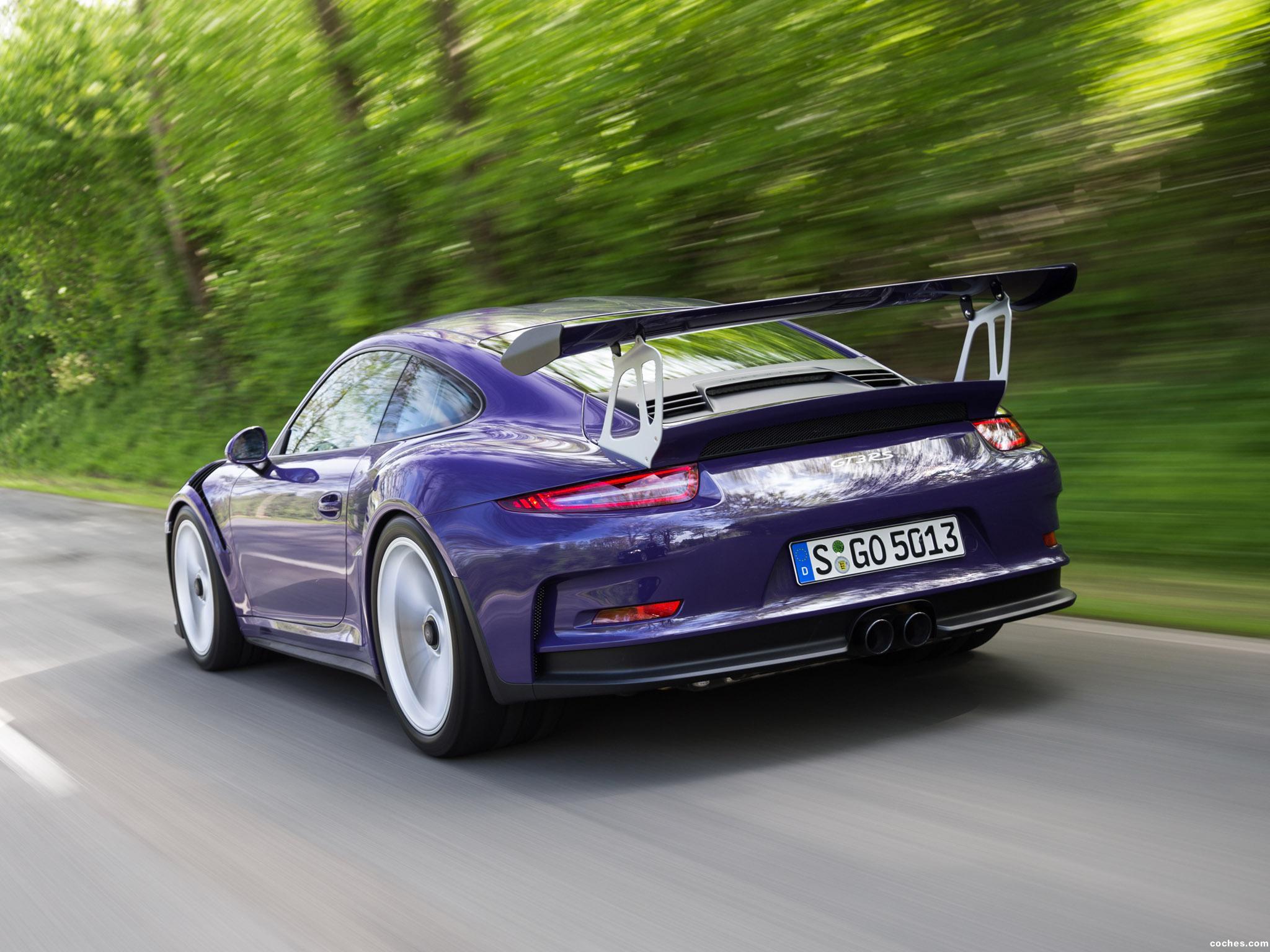 Foto 11 de Porsche 911 GT3 RS 991 2015