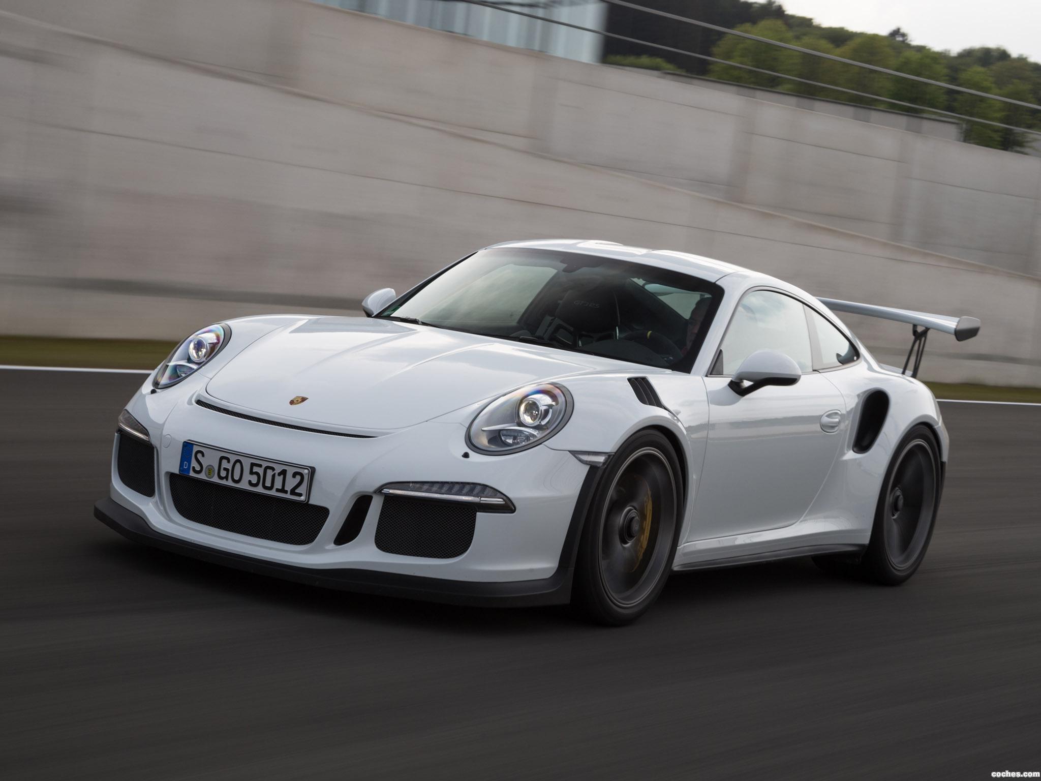Foto 10 de Porsche 911 GT3 RS 991 2015