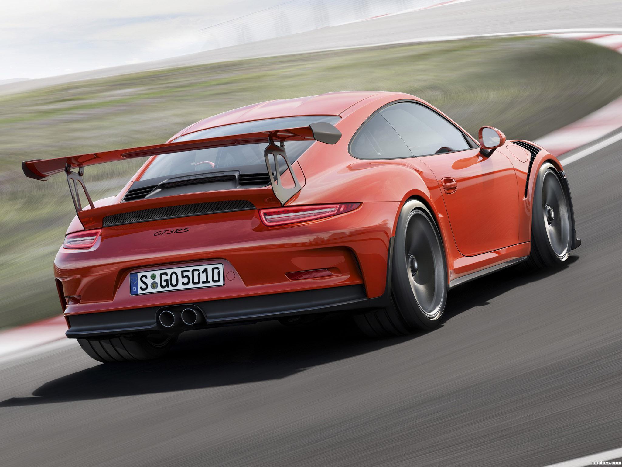 Foto 5 de Porsche 911 GT3 RS 991 2015