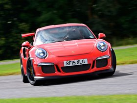 Fotos de Porsche 911 GT3 RS 991 UK 2015