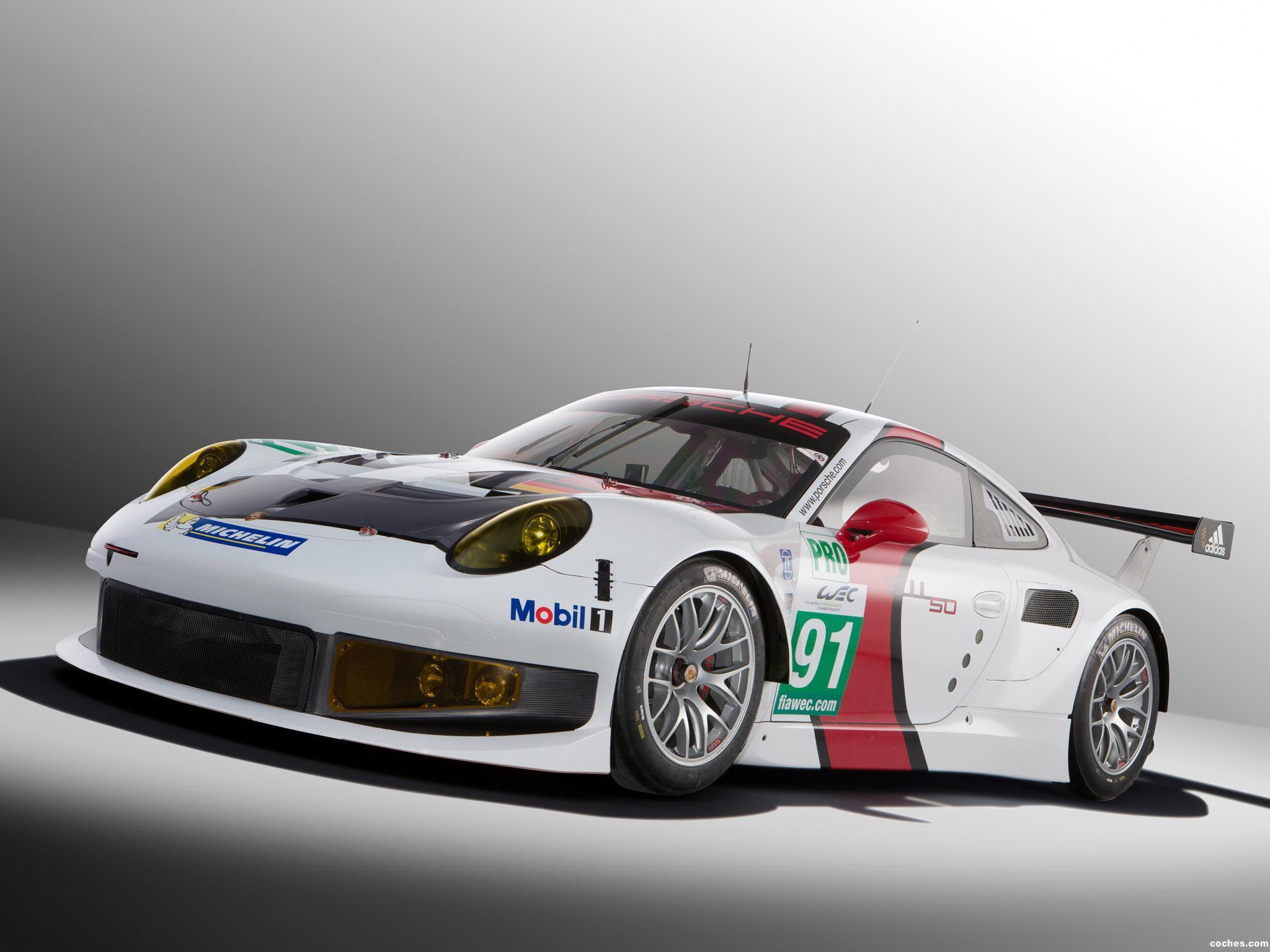 Foto 0 de Porsche 911 RSR 991 2013
