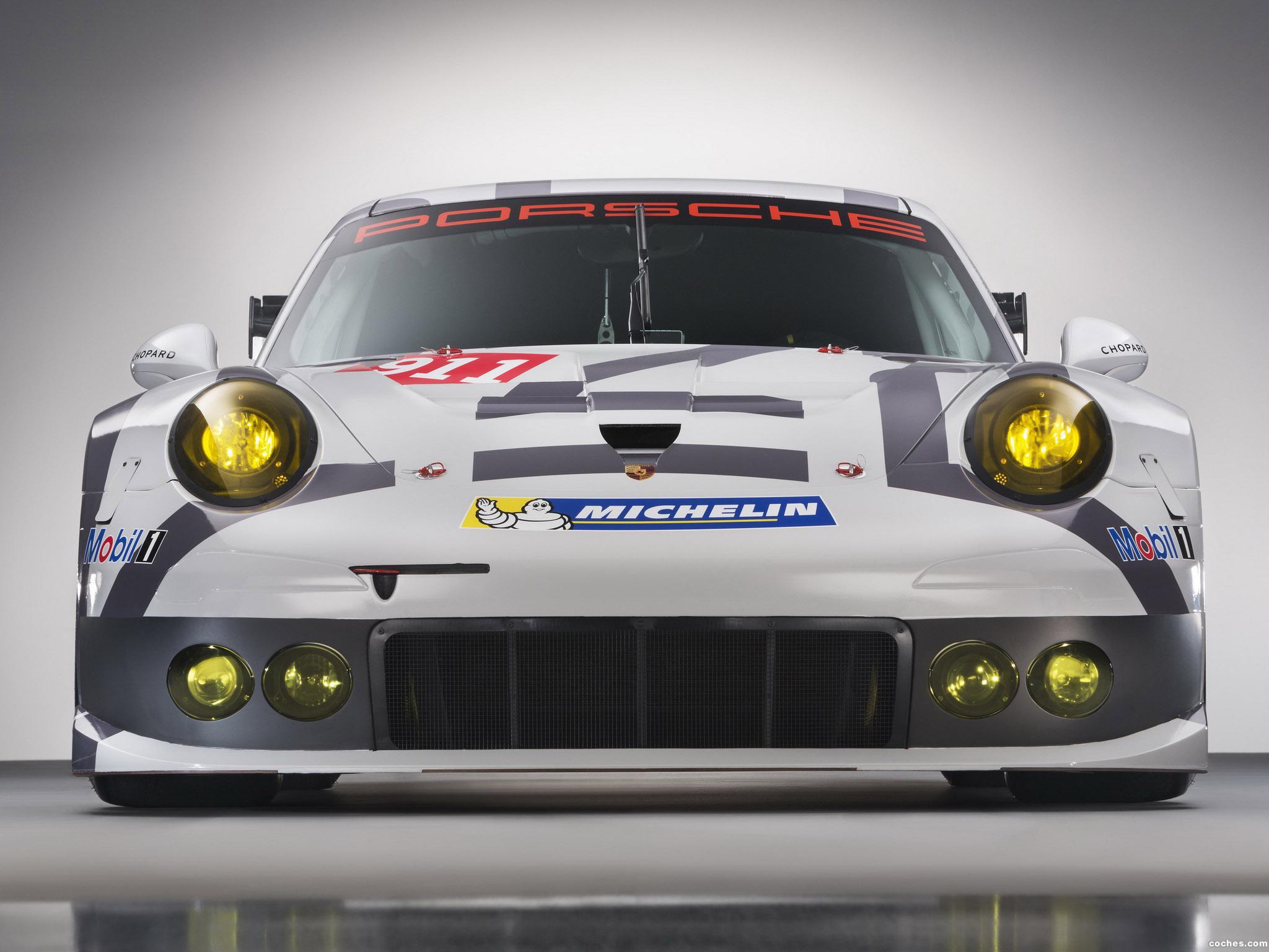 Foto 0 de Porsche 911 RSR 991 2014