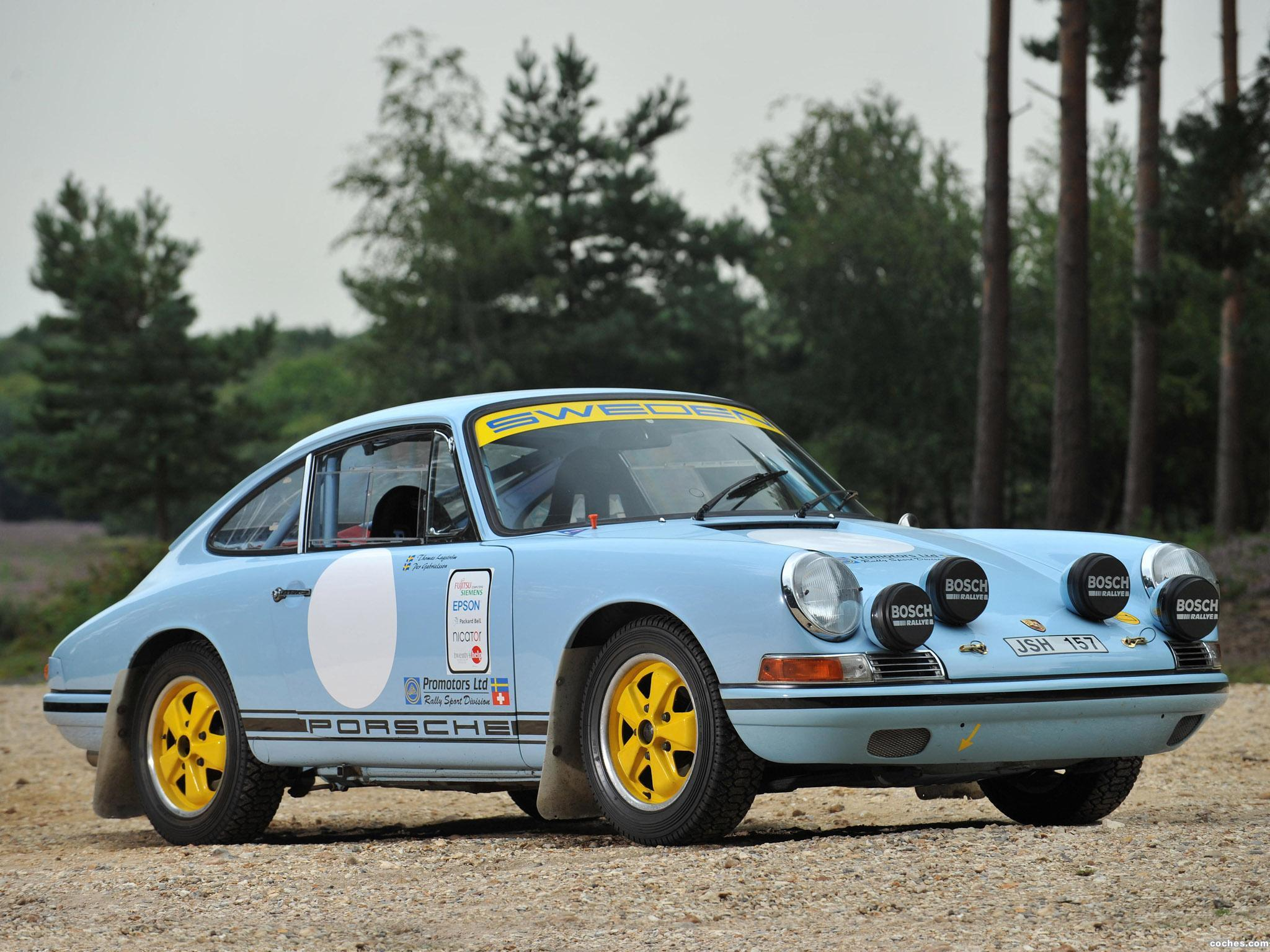 Foto 0 de Porsche 911 SWB FIA Rally Car 1965