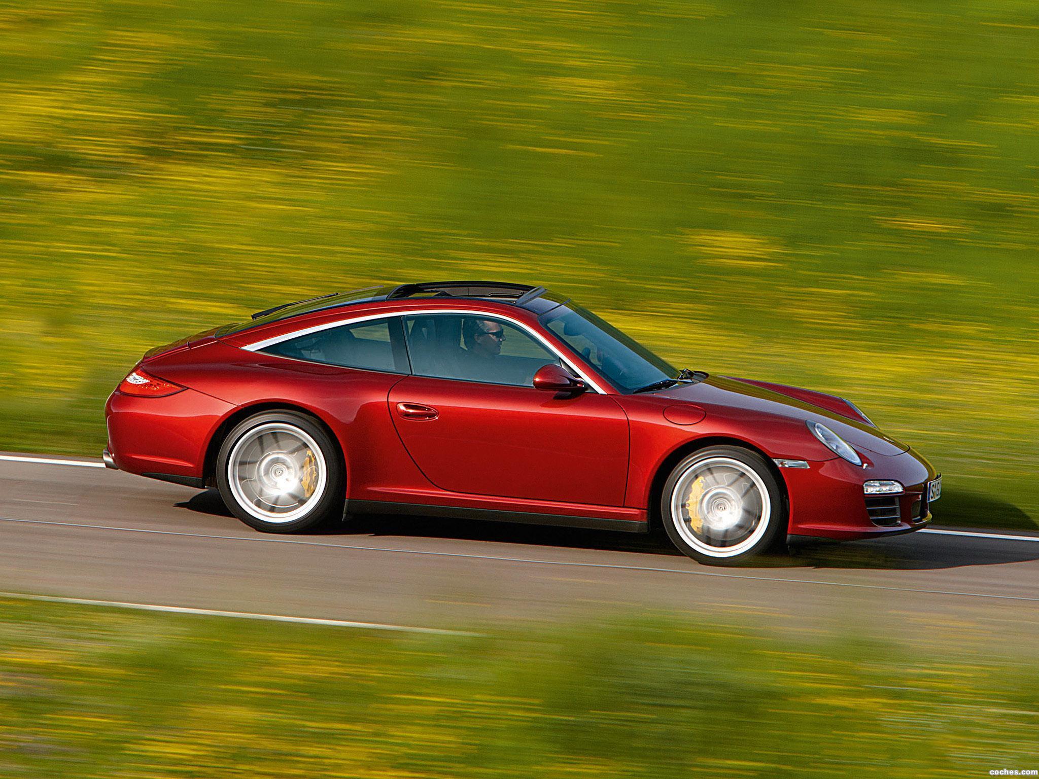 Foto 1 de Porsche 911 Targa 4S 997 2008