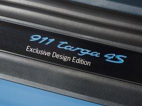 Ver foto 6 de Porsche 911 Targa 4S Exclusive Design Edition 2016