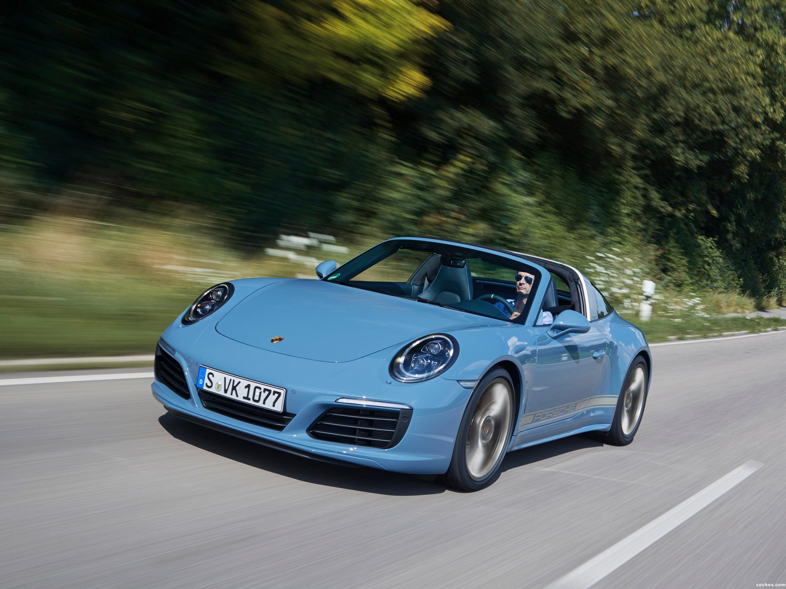 Foto 0 de Porsche 911 Targa 4S Exclusive Design Edition 2016