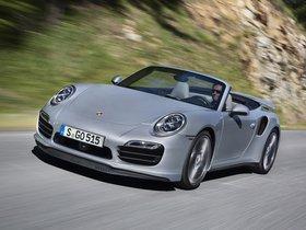 Fotos de Porsche 911 Turbo Cabriolet 991 2013