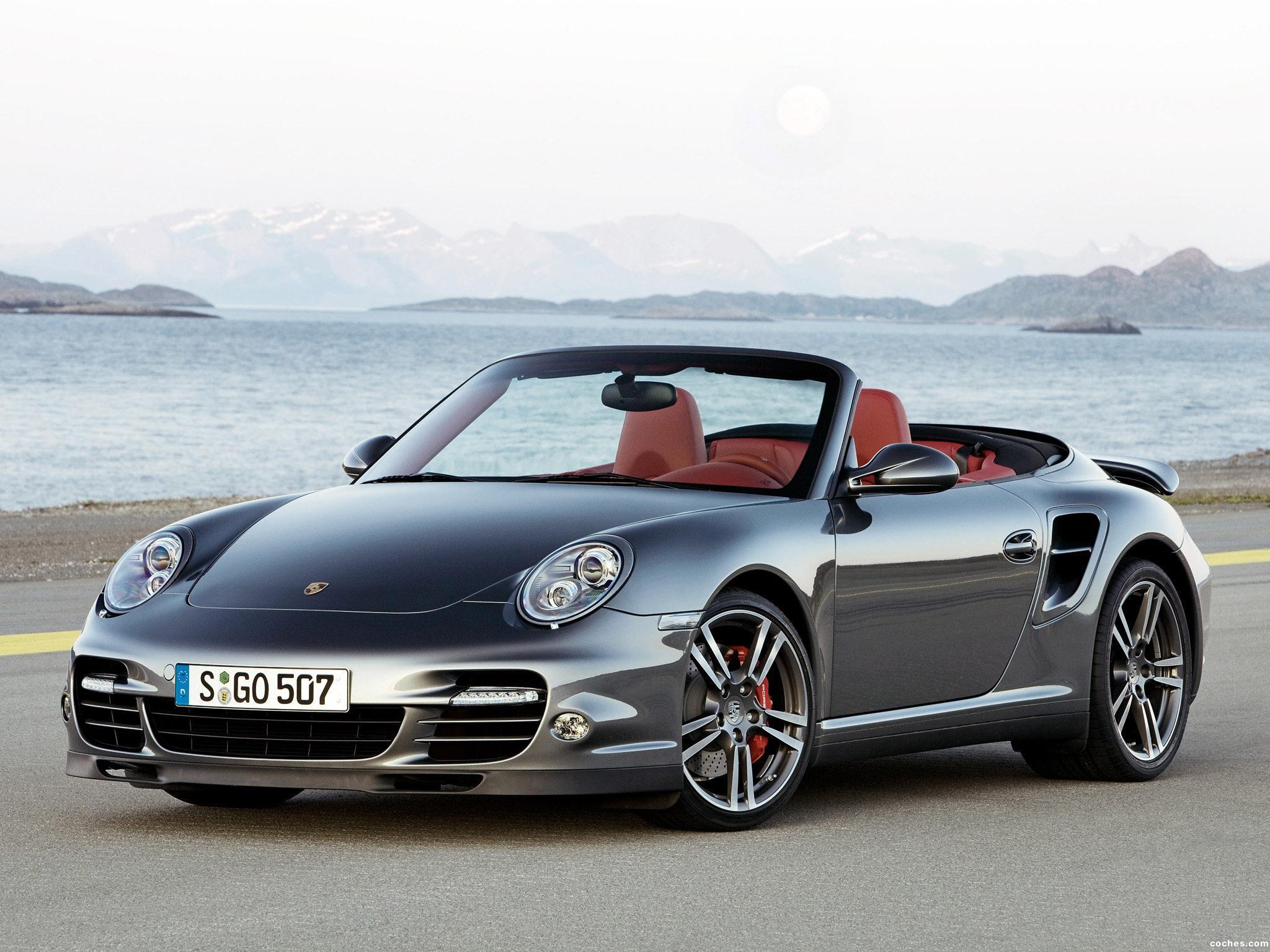 Fotos De Porsche 911 Turbo Cabriolet 997 2009