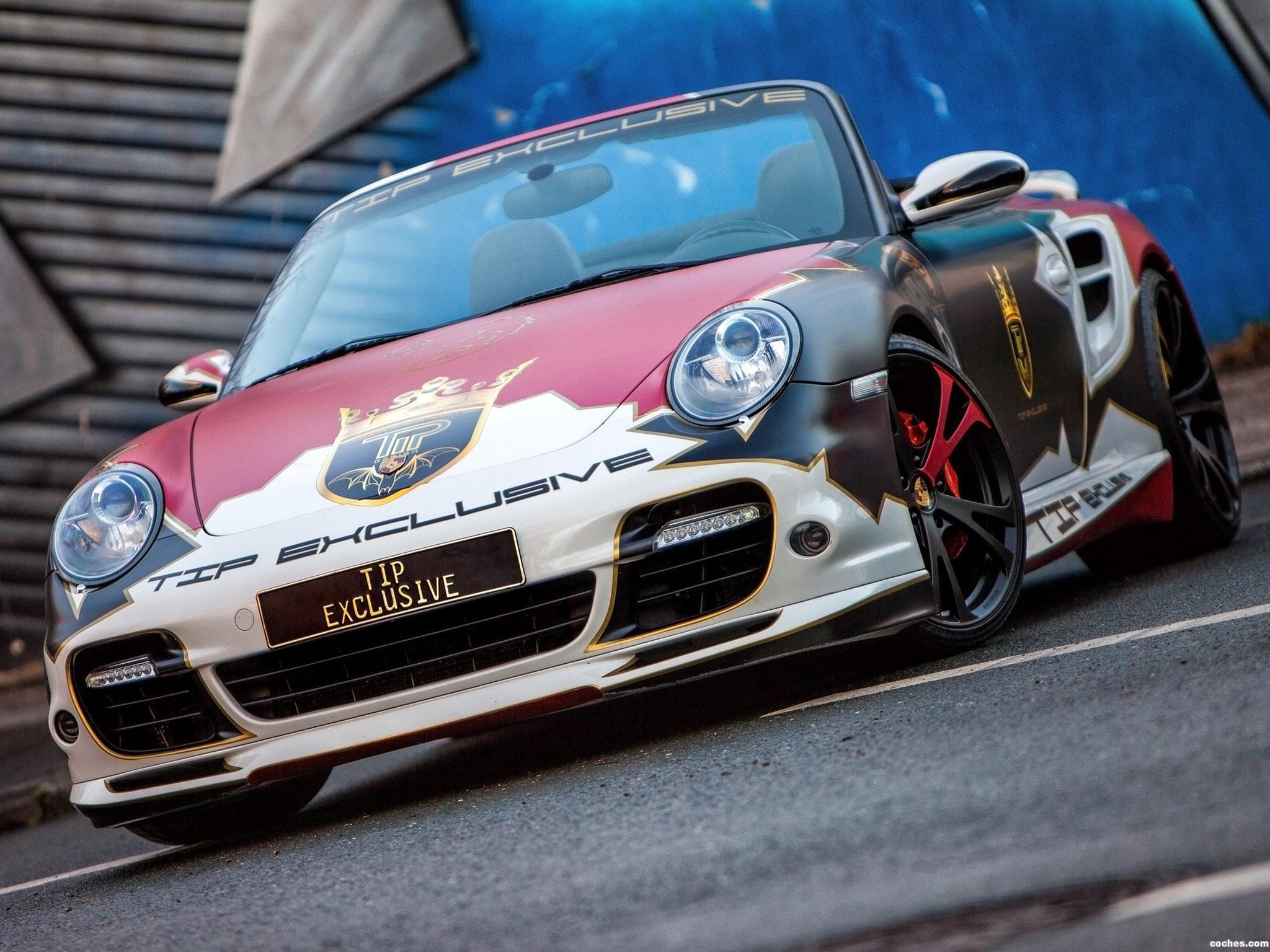 Foto 0 de Porsche 911 Turbo Convertible TIP Exclusive 2016