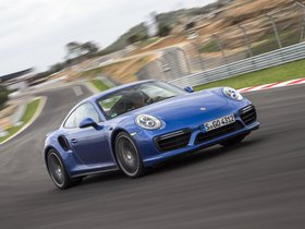 Fotos de Porsche 911 Turbo Coupe 991 2016