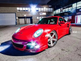 Fotos de Porsche 911 Turbo 997 D2Forged CV2 2012